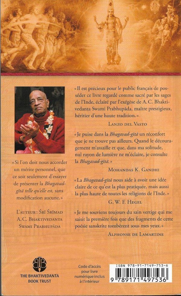 La Bhagavad-Gita (édition pocket)
